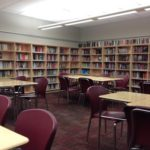 Austin Hall's classroom library